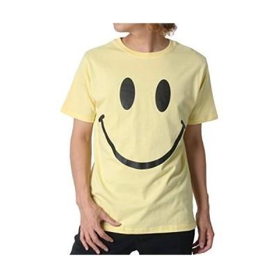 [スマイリーフェイス] Tシャツ メンズ 半袖 無地 おしゃれ カジュアル カットソー 柔らかい クルーネック トップス プリント 柄3:(
