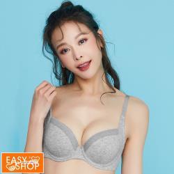 【EASY SHOP】親膚日記-軟鋼圈側包少女內衣-中性灰