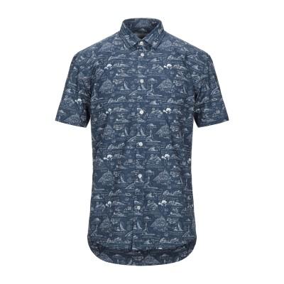 MINIMUM シャツ ブルーグレー M コットン 100% シャツ