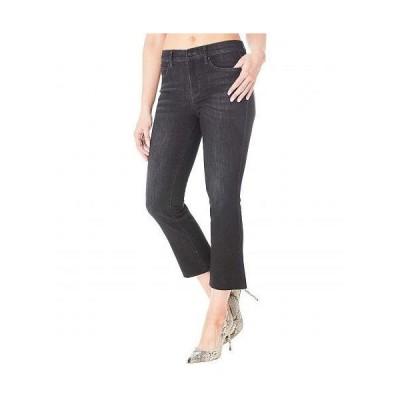 Nicole Miller New York 二コールミラー レディース 女性用 ファッション ジーンズ デニム Soho High-Rise Crop Boot Denim in Black - Black