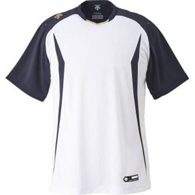 DESCENTE(デサント) 野球 ベースボールシャツ ネイビー XOサイズ DB120