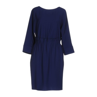 アルマーニ コレッツィオーニ ARMANI COLLEZIONI ミニワンピース&ドレス ブルー 40 ポリエステル 100% ミニワンピース&ドレス