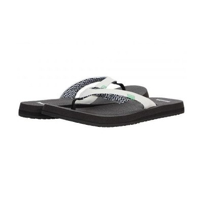 Sanuk サヌーク レディース 女性用 シューズ 靴 サンダル Yoga Serenity 4 - White