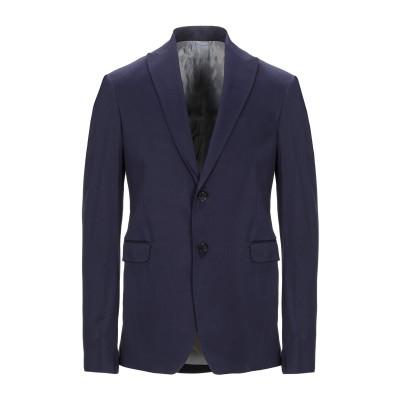 MARCIANO テーラードジャケット ダークブルー 48 コットン 97% / ポリウレタン 3% テーラードジャケット