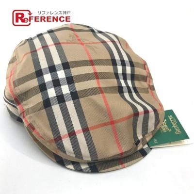 BURBERRY バーバリー バーバリー ゴルフコレクション Burberrys タグ有り 帽子 ベージュ メンズ 【中古】