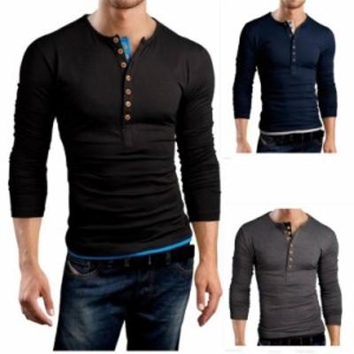 「還元祭クーポン適用」Tシャツ メンズ 長袖 カットソー メンズTシャツ Tシャツ メンズ長袖 無地 長袖ポロシャツ 白 tシャツ 長袖Tシ