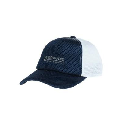 ジローム(GIRAUDM) 帽子 キッズ メッシュキャップ ダブルラッセルキャップ1 899GM0ST6141 NVY 日よけ (キッズ)