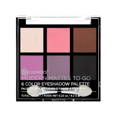 bhcosmetics ビーエイチコスメ アイシャドウ Modern Mattes To Go - 6 Color Eyeshadow Palette