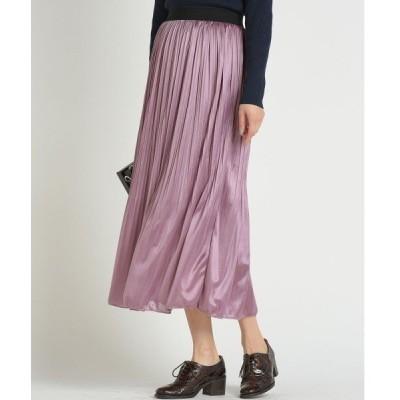スカート 【socolla】消しプリーツスカート