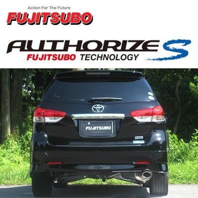 FUJITSUBO フジツボ マフラー オーソライズS ウィッシュ DBA-ZGE22W H21.4〜H24.4 3ZR-FAE 2.0Z 2WD