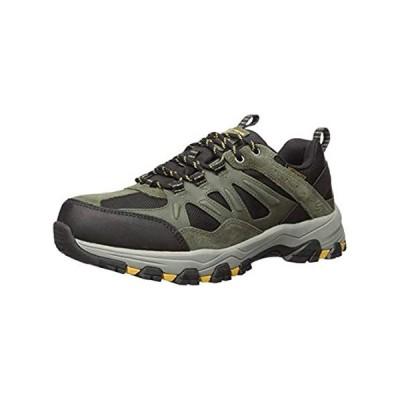 特別価格Skechers Men's Selmen-Enago Trail Oxford Hiking Shoe, Olbk, 9.5 Medium US好評販売中