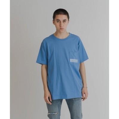 tシャツ Tシャツ LEVI'S(R) MADE&CRAFTED(R) LMC POCKET TEE LMC BLUE STRIKE BLUE/WHI