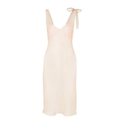 THREE GRACES LONDON シルクドレス ファッション  レディースファッション  ドレス、ブライダル  パーティドレス あんず色