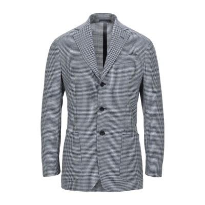サルトリオ SARTORIO テーラードジャケット ブルー 48 バージンウール 80% / シルク 20% テーラードジャケット