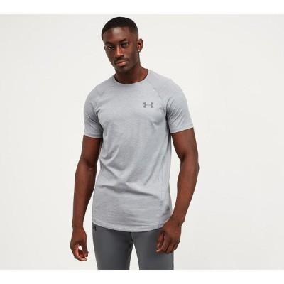 アンダーアーマー Under Armour メンズ Tシャツ トップス mk-1 t-shirt Steel Light Heather