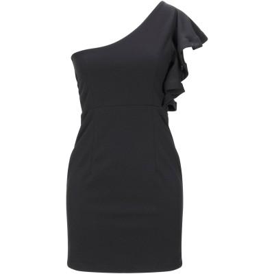SOALLURE ミニワンピース&ドレス ブラック 38 ポリエステル 95% / ポリウレタン 5% ミニワンピース&ドレス