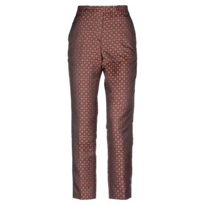 エトロ ETRO パンツ 赤茶色 40 ポリエステル 100% パンツ