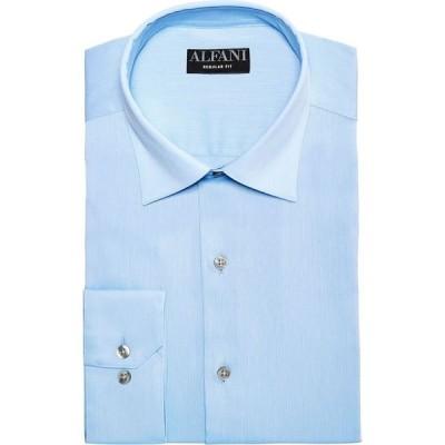 アルファニ Alfani メンズ シャツ トップス Bedford Cord Classic/Regular Fit Dress Shirt's Light Blue