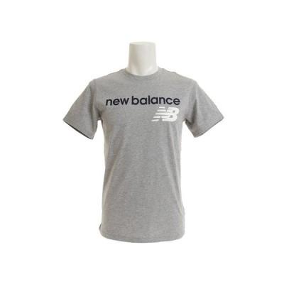 ニューバランス(new balance) アスレチックスメインロゴTシャツ AMT73581AGM オンライン価格 (メンズ)