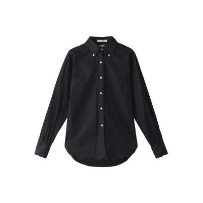 MADISONBLUE マディソンブルー MADISON コットンオックスシャツ レディース ブラック 02(M)