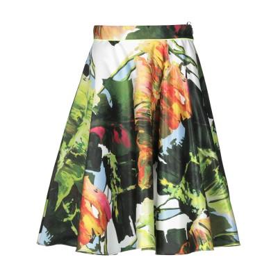 ブルーガール ブルマリン BLUGIRL BLUMARINE ひざ丈スカート ダークグリーン 36 ポリエステル 100% ひざ丈スカート