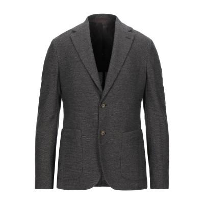 イレブンティ ELEVENTY テーラードジャケット ダークブラウン 48 ウール 52% / コットン 48% テーラードジャケット
