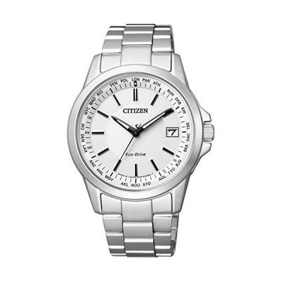 [シチズン]CITIZEN 腕時計 エコ・ドライブ電波 ダイレクトフライト 針表示式 ペアモデル CB1090-59A メンズ