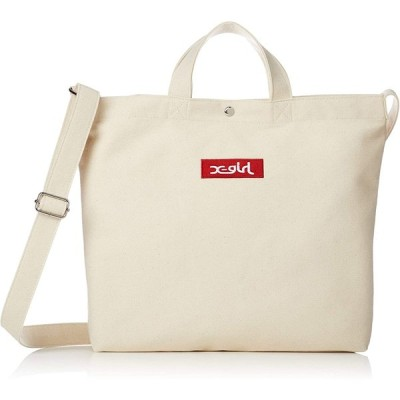 [エックスガール] BOX LOGO 2WAY TOTE BAG 05194020
