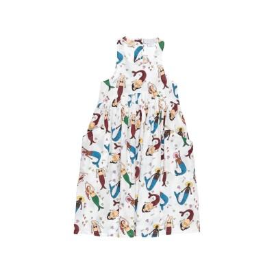 ステラ マッカートニー キッズ STELLA McCARTNEY KIDS ワンピース&ドレス ホワイト 12 コットン 100% ワンピース&ドレス