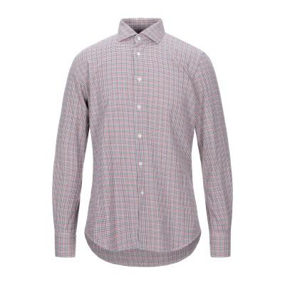 グランシャツ GLANSHIRT シャツ レッド 41 コットン 100% シャツ