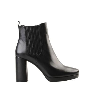 ブルーノ プレミ BRUNO PREMI ショートブーツ ブラック 35 羊革(シープスキン) ショートブーツ
