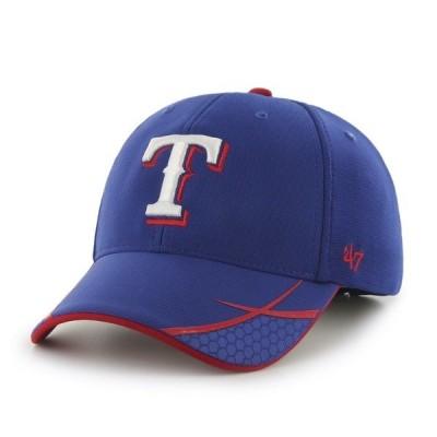 フォーティーセブン 帽子 アクセサリー メンズ '47 Men's Texas Rangers Sensei MVP Cap Blue