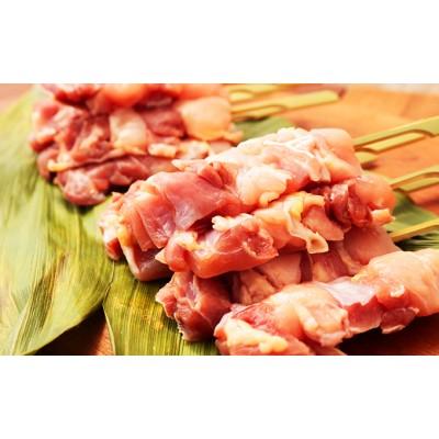 秋田県産比内地鶏肉 焼き鳥の定期便(30本×3ヶ月)(焼鳥 3ヶ月 もも肉 むね肉)