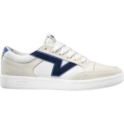 バンズ スニーカー シューズ メンズ Vans Lowland CC Shoes White/Blue
