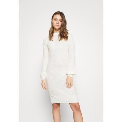 ヴィラ ワンピース レディース トップス VIFESTA DRESS - Jumper dress - snow white