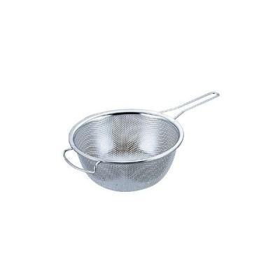 料理道具 ボール ステンレス 18-8片手メッシュボール 深型 15cm (8-0254-0501)