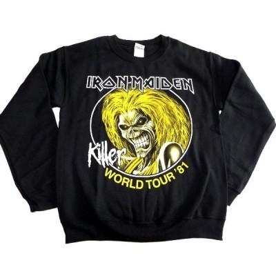 IRON MAIDEN アイアンメイデン KILLERS WORLD TOUR 81 Sweatshirt オフィシャル スウェットシャツ / 正規ライセンス品