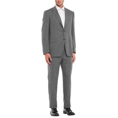 カナーリ CANALI スーツ 鉛色 50 ウール 100% スーツ