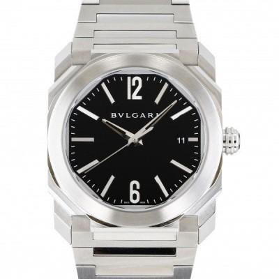 ブルガリ BVLGARI オクト ソロテンポ BGO38BSSD ブラック文字盤 新品 腕時計 メンズ