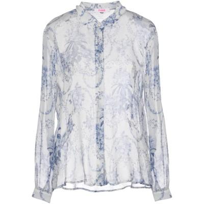 ブルーガール ブルマリン BLUGIRL BLUMARINE シャツ ブルー 40 100% レーヨン シャツ