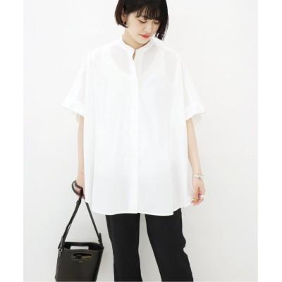 【ジャーナルスタンダード】 H/Sポンチョシャツ◆ レディース ホワイト フリー JOURNAL STANDARD
