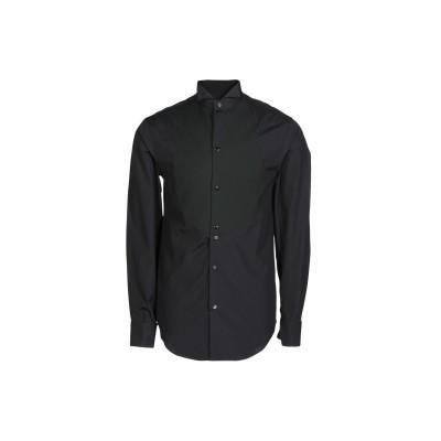 エンポリオ アルマーニ EMPORIO ARMANI シャツ ブラック 41 コットン 100% シャツ