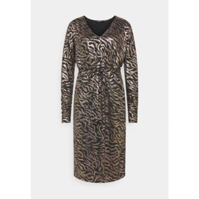 レディース ファッション DRESS SHORT - Cocktail dress / Party dress - platin/black