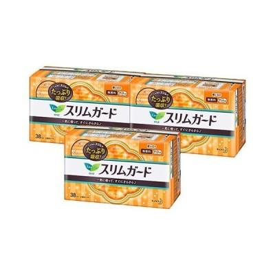 ロリエ スリムガード 軽い日用 ( 38コ入*3コセット )/ ロリエ ( 生理用品 )