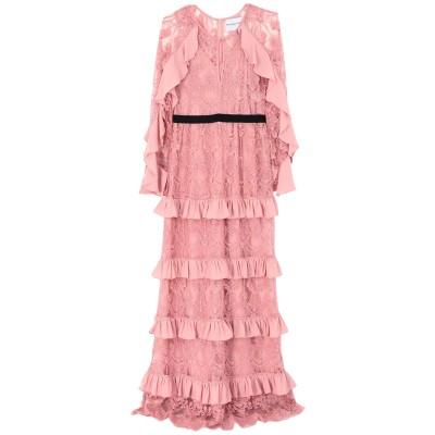 PERSEVERANCE ロングワンピース&ドレス ピンク 8 ナイロン 100% ロングワンピース&ドレス