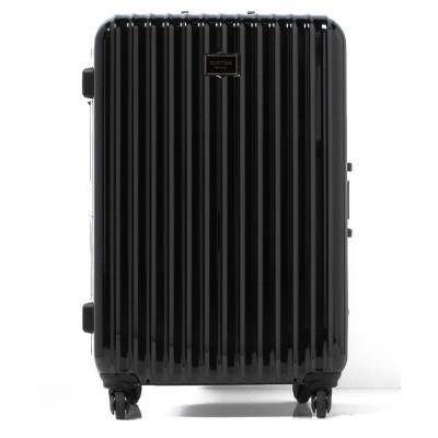 (BENETTON (women)/ベネトン レディース)【L】静走ラインキャリーケース・スーツケース容量約80L 静音/レディース ブラック