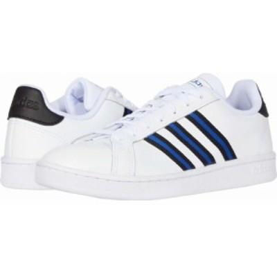 アディダス adidas メンズ スニーカー シューズ・靴 Grand Court White/Core Black/Team Royal Blue