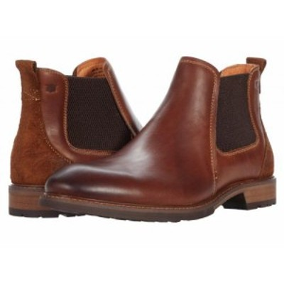 Florsheim フローシャイム メンズ 男性用 シューズ 靴 ブーツ チェルシーブーツ Lodge Plain Toe Gore Boot Chestnut Smooth【送料無料】