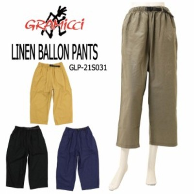 GRAMICCI グラミチ レディース リネン バルーンパンツ GLP-21S031 LINEN BALLON PANTS ボトムス ワイド
