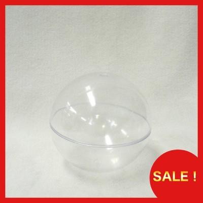 プラスチックBOX 球体 クリア 径100mm